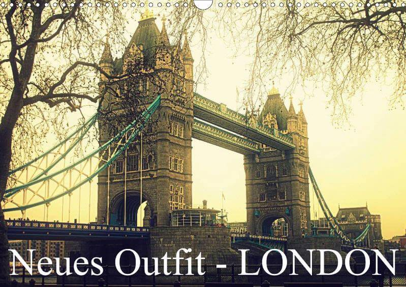 Neues Outfit - LONDON - Kalender
