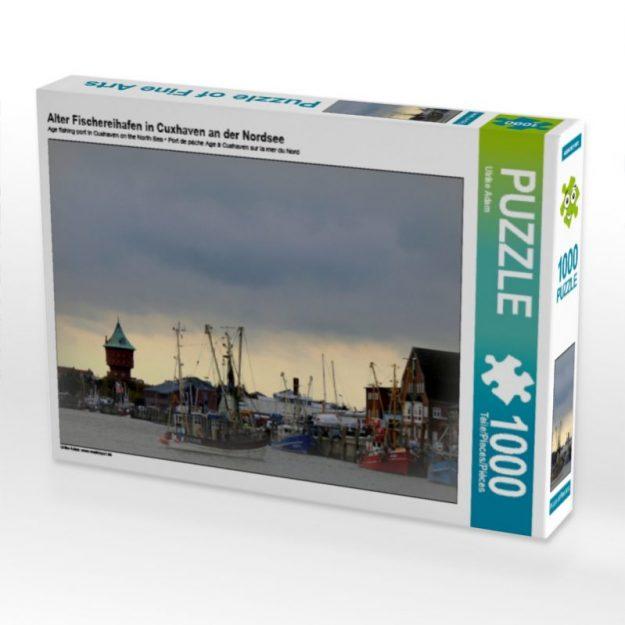 Alter Fischereihafen in Cuxhaven an der Nordsee - Puzzle