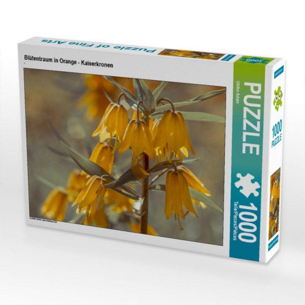 Blütentraum in Orange - Kaiserkronen - Puzzle