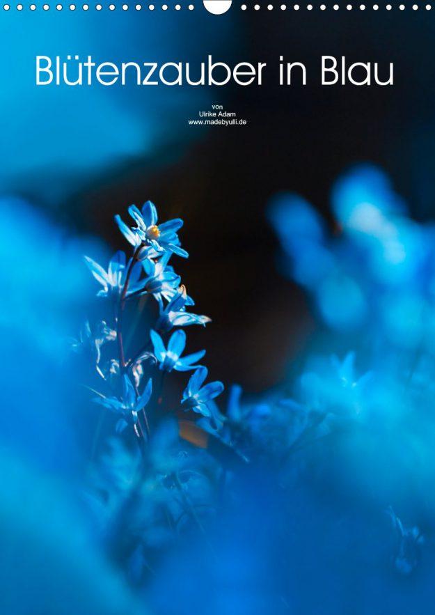 Blütenzauber in Blau - Geburtstagskalender