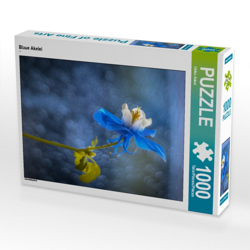 Blaue Akelei - Puzzle
