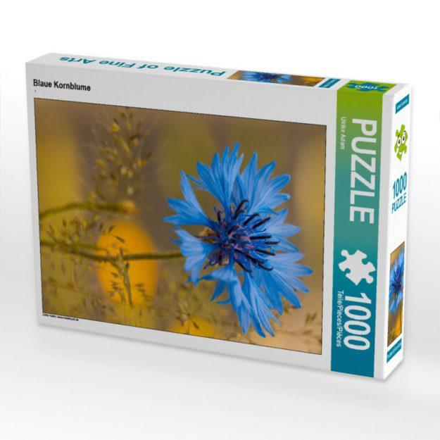 Blaue Kornblume - Puzzle