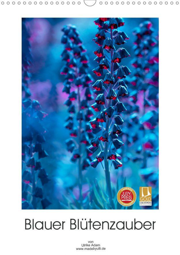 Blauer Blütenzauber (Kalender)