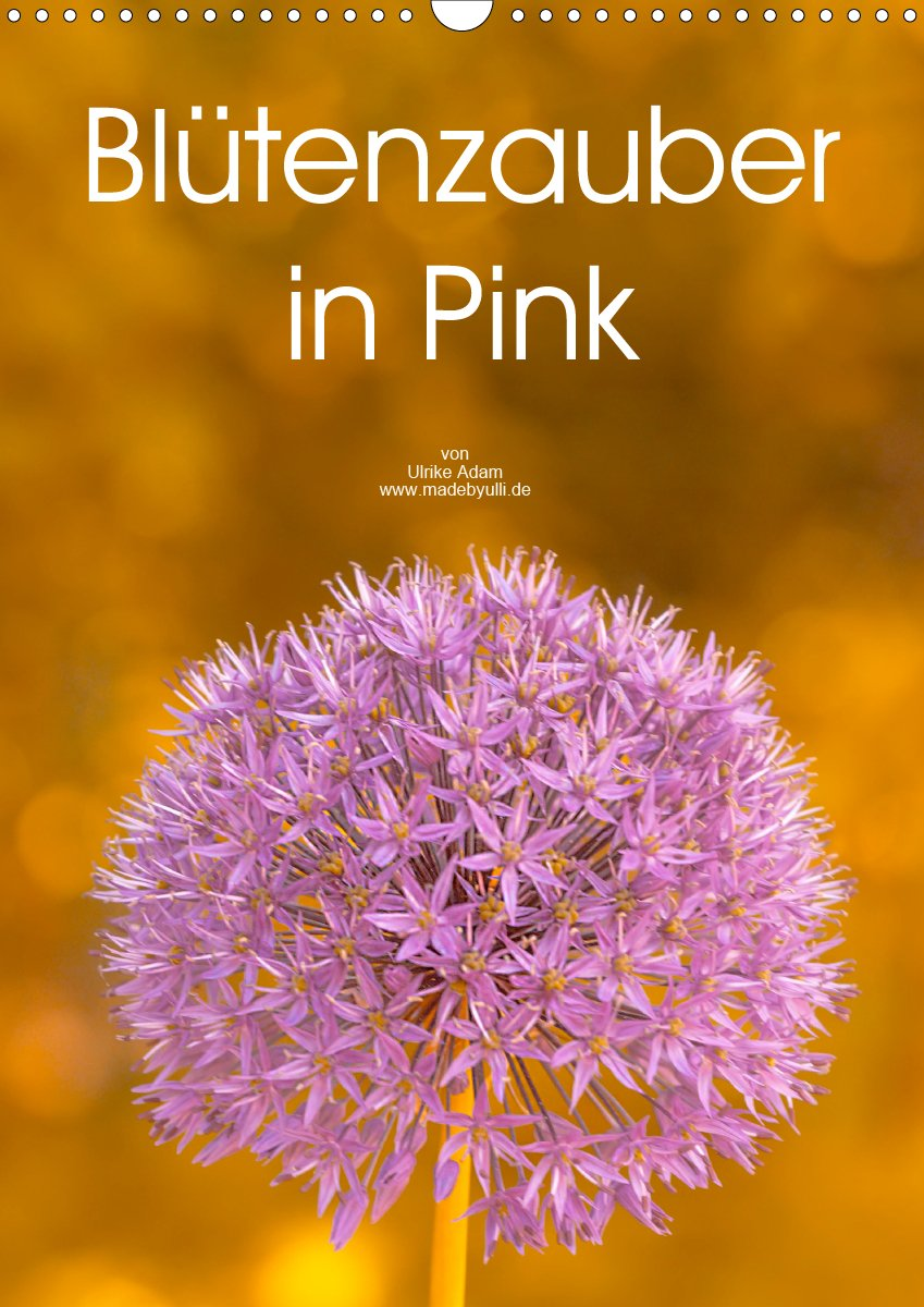 Blütenzauber in Pink - Planer