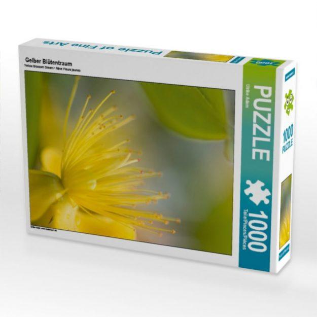 Gelber Blütentraum - Puzzle