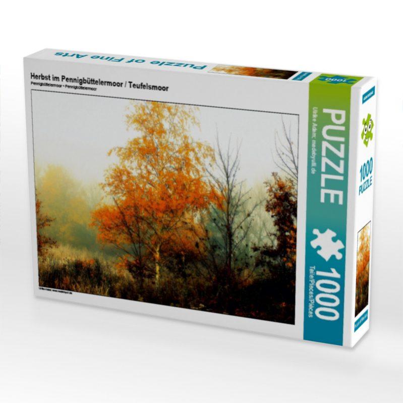 Herbst im Pennigbüttelermoor - Teufelsmoor - Puzzle