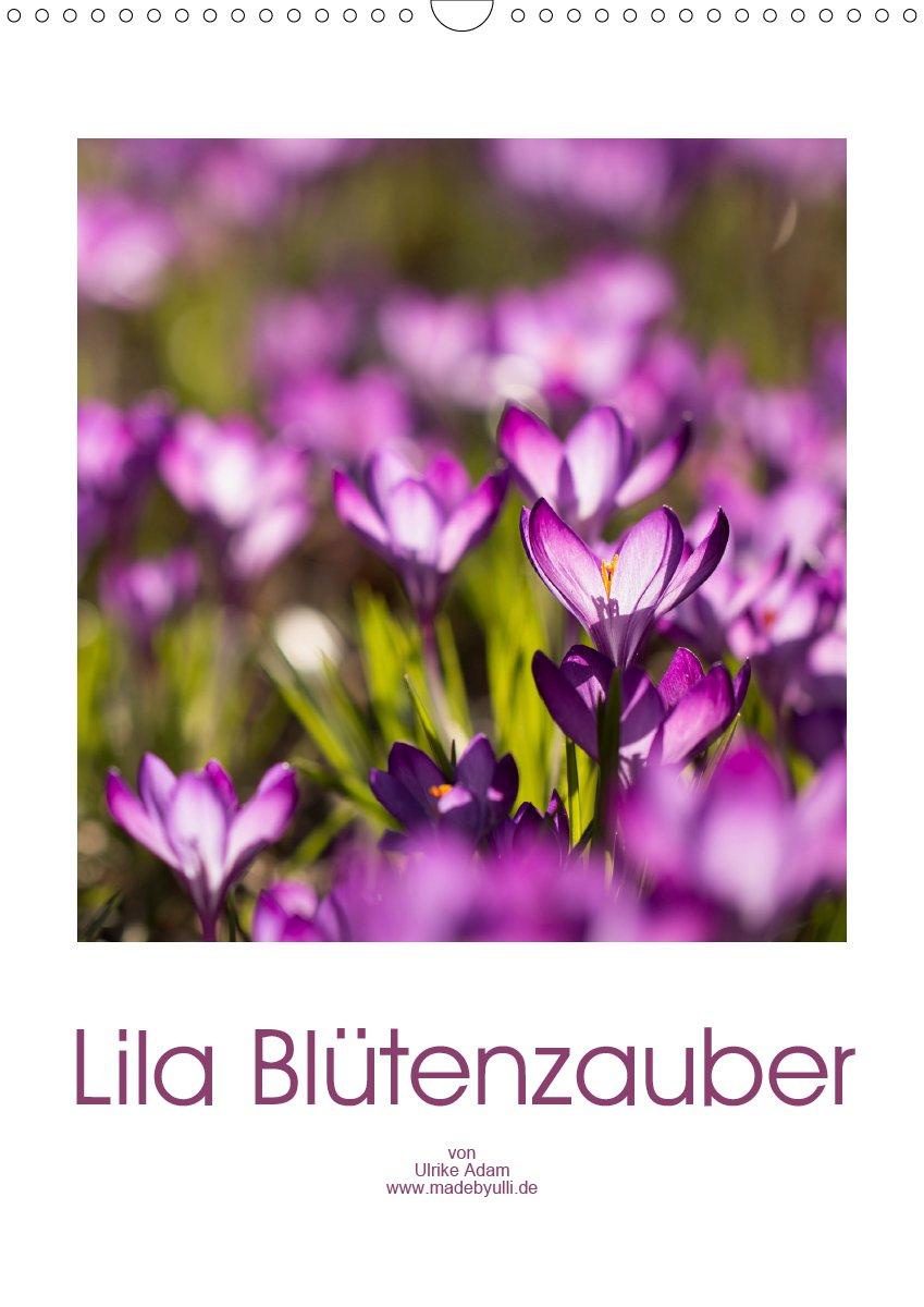 Lila Blütenzauber - Kalender