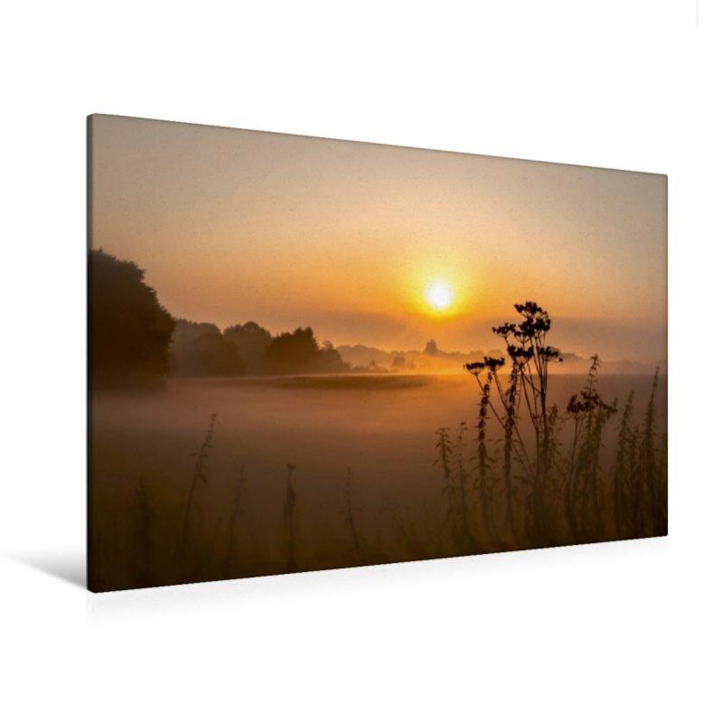 Nebel Impressionen in Wiste - Leinwand