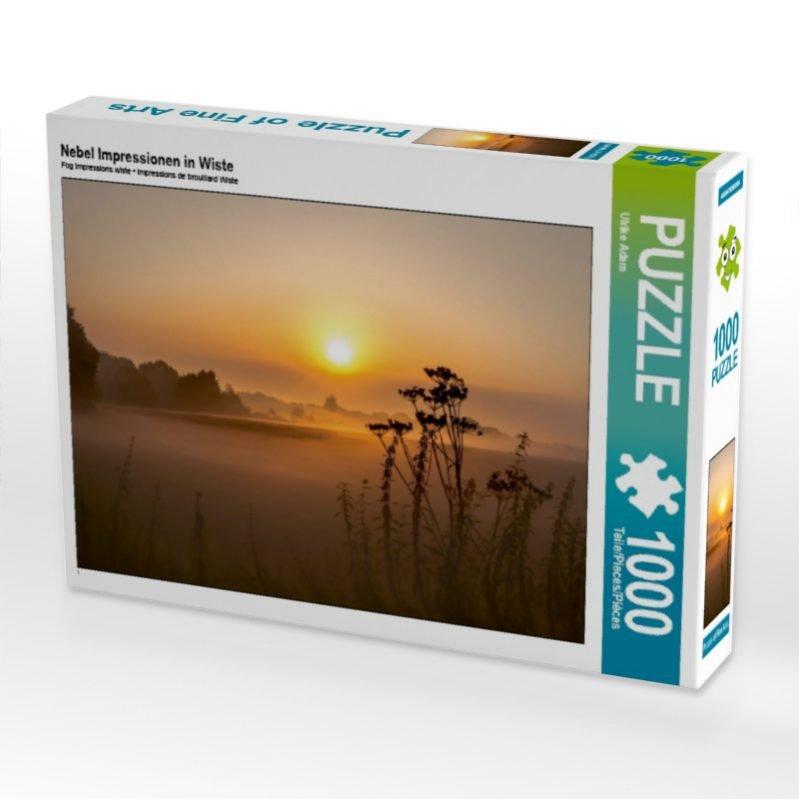 Nebel Impressionen in Wiste - Puzzle