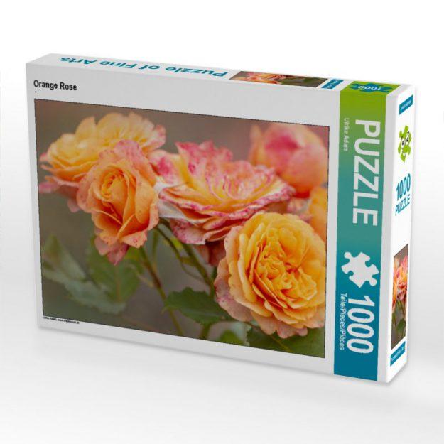 Orange Rose - Puzzle