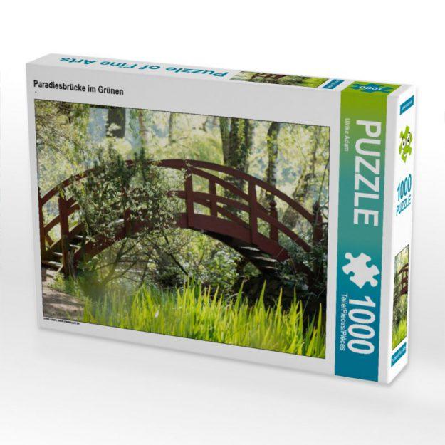 Paradiesbrücke im Grünen - Puzzle