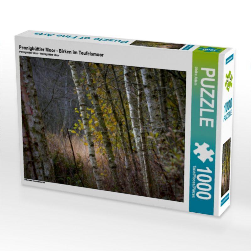 Pennigbüttler Moor - Birken im Teufelsmoor - Puzzle