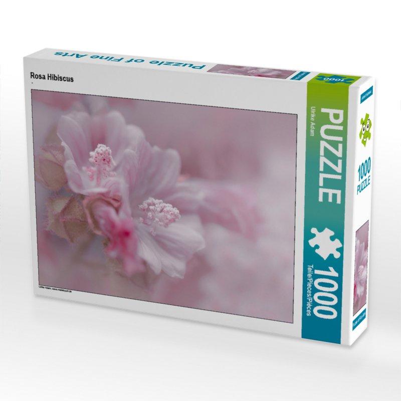 Rosa Hibiscus - Puzzle