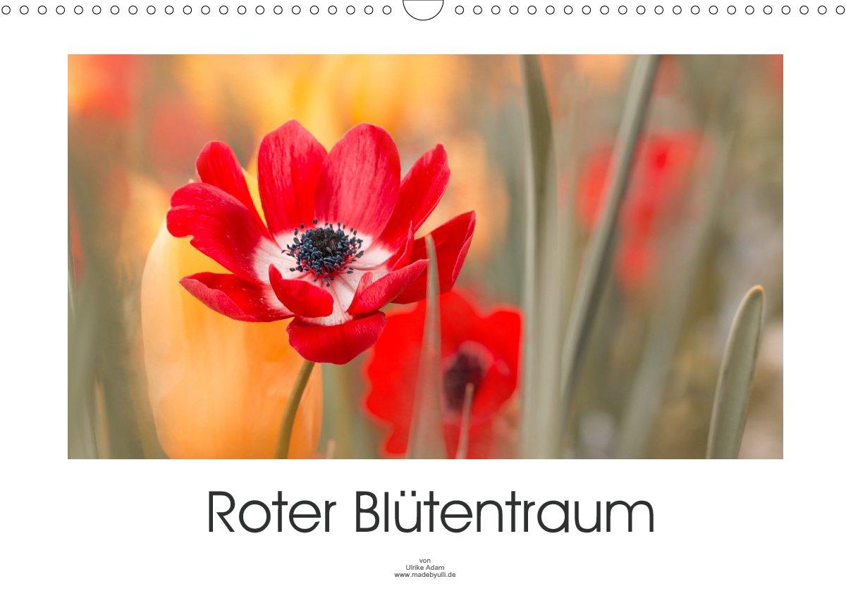 Roter Blütentraum - Kalender