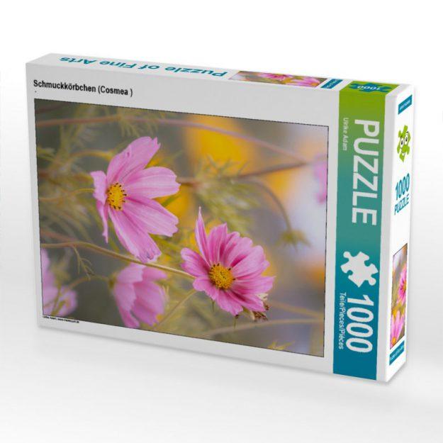 Schmuckkörbchen (Cosmea) - Puzzle