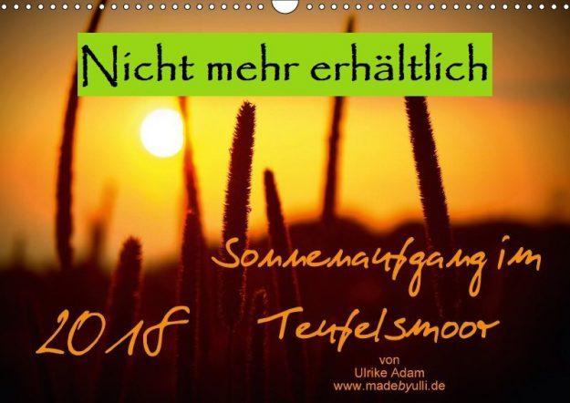 Sonnenaufgang im Teufelsmoor (Kalender)