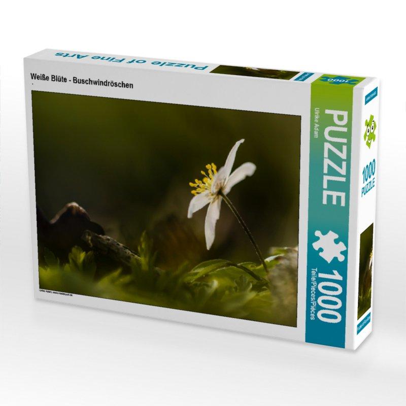 Weiße Blüte - Buschwindröschen - Puzzle