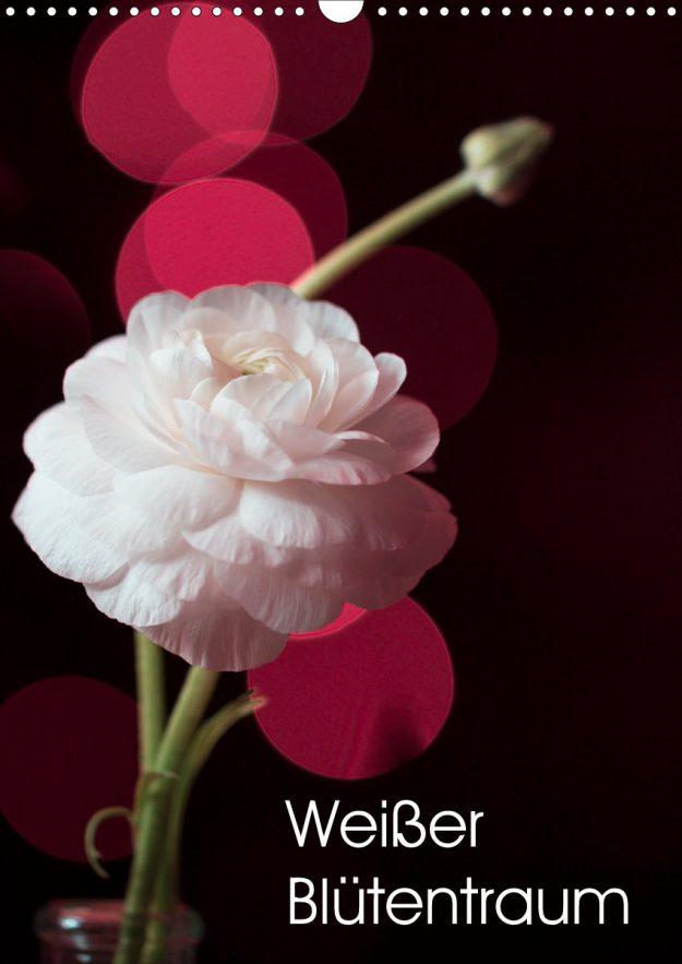 Weißer Blütentraum - Kalender