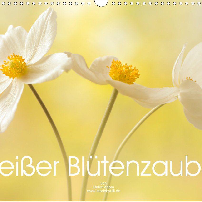 Weißer Blütenzauber - Kalender